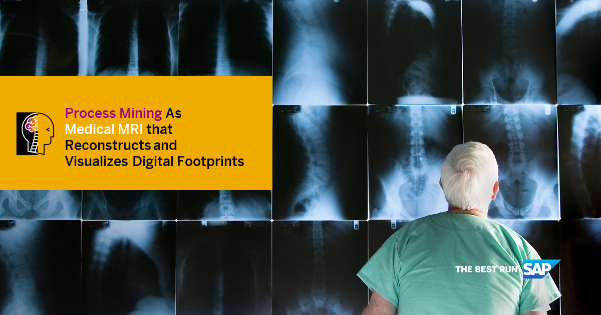 Process Mining As Medical MRI That Reconstructs And Visualizes Digital Footprints