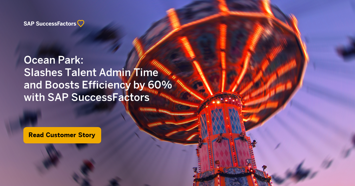 Ocean Park Boosts HR Performance With Digital HR Transformation