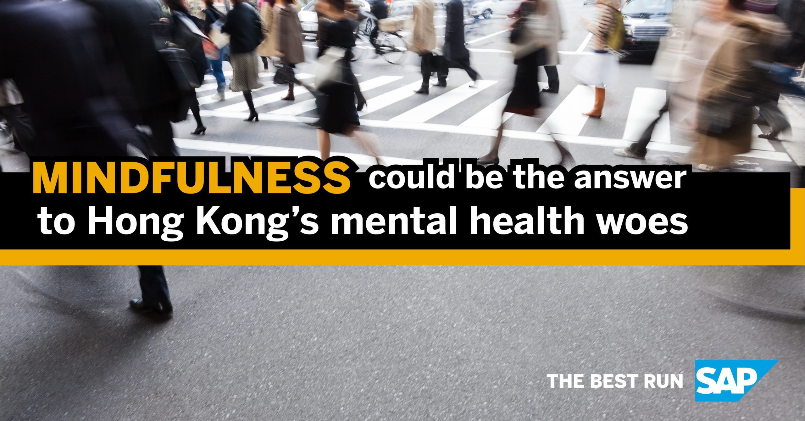 Mindfulness Could Be The Answer To Hong Kong's Mental Health Woes